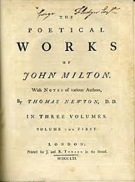 On His Blindness John Milton Meaning John Milton Wikipedia