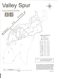 Michigan Trail Maps by Hannahville Learn And Serve Valley Spur Ski Trail