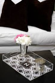 monogrammed trays 118 best lucite tray images on lucite tray serving