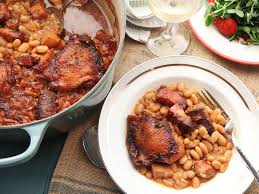 what is the traditional thanksgiving meal traditional french cassoulet recipe serious eats