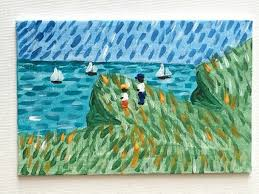 Claude Monet Blind Top 10 Claude Monet Art Projects For Kids