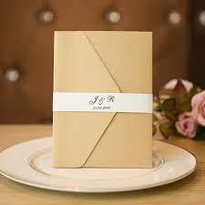 wedding invitations gold unique boho foil pressed floral gold glittery pocket wedding