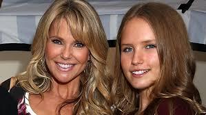 Christie Brinkley Sailor Brinkley Cook Models Just Like Mom Christie Brinkley In