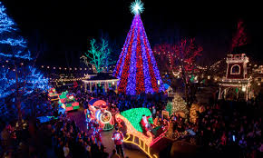 parade of lights branson mo dollar city holiday show guide