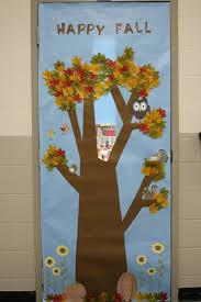 happy fall classroom door cover school ideas fall
