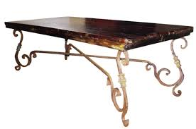 glass dining room table bases glass top dining table wrought iron wrought iron coffee table with glass and wooden round furniture