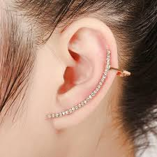 cuff piercing cool fashion simplicity designed alloy stick ear auricle piercing