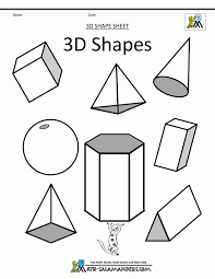 Free Printable Shapes Worksheets Tasty Math Geometric Art Shapes Clipart List Of 3d Bw Geometry For
