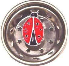 Amazoncom LADYBUG Bug Kitchen Sink Strainer Drain Plug Home - Kitchen sink drain plug