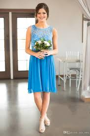 cheap 2017 new country style bridesmaid dresses short cheap