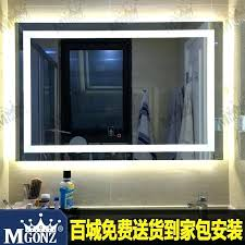 led bathroom mirrors uk anti fog mirrors for bathroom bathroom mirror anti fog spray