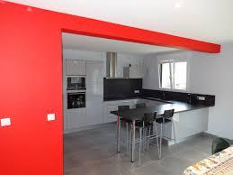 salon cuisine ouverte beau peinture salon cuisine ouverte avec deco maison cuisine