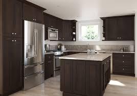 espresso kitchen cabinets with white countertops give your kitchen a jolt with espresso cabinetry the rta store