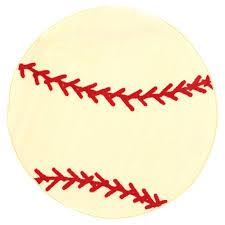Baseball Area Rug Rugs Shape High Pile Baseball Sports Area Rug Reviews