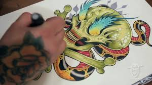 david tevenal tattoo flash on vimeo