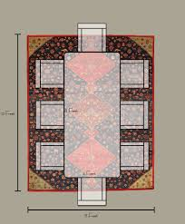What Is A Dining Room Size Of Rug For Dining Room Choose The Right Rug Size For Any Room