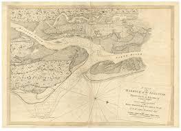 Map Of St Augustine Fl St Augustine Harbor Florida Ca1780 Map Revolutionary War