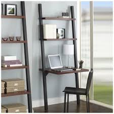 White Ladder Shelves by Shelf Design Fascinating Leaning Wall Shelf White 5 Tier Leaning