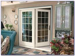 Outswing Patio Doors Outswing French Patio Doors With Blinds Patios Home Decorating