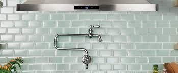 kohler artifacts r single hole wall mount pot filler kitchen sink