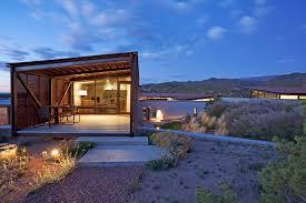Santa Fe Style House Flato Architects Desert House In Santa Fe