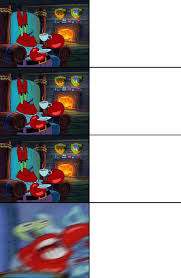 Mr Krabs Meme - mr krabs shocked meme template by zacksonic123 on deviantart