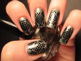 jessica u0027s nail art snake skin nail design