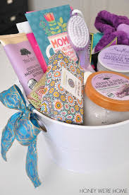 best friend gift basket s day gift idea spa basket honey we re home bloglovin