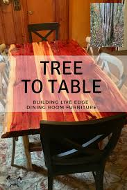 Arm Chair Survivalist Design Ideas Tree To Table Building Live Edge Dining Room Furniture