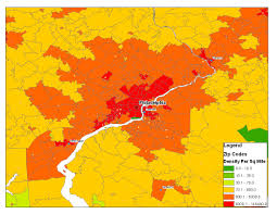 Trenton Nj Zip Code Map by Is There A Best Way To Determine Comparative City Population