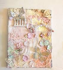 Shabby Chic Projects by 132 Best Altered Canvas Images On Pinterest Altered Canvas