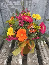 half dozen gerber daisies in hamilton mt flower happy floral