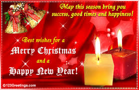 best wishes for a merry and a happy new year pictures