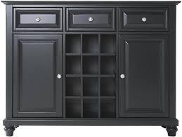 amazon com crosley furniture alexandria wine buffet sideboard