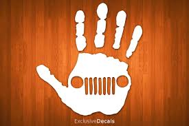 jeep grill sticker jeep decal jeep wave jeep sticker car decal jeep jeep