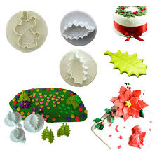 compare prices on plastic christmas cake decorations online