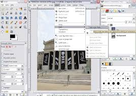 how to replace a sky in gimp