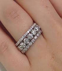 stackable diamond rings best 25 anniversary rings ideas on vintage