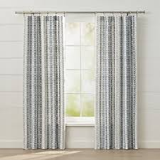 Gold And Blue Curtains Curtain Panels And Window Coverings Crate And Barrel
