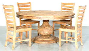 dining table rustic dining room table designs set round with