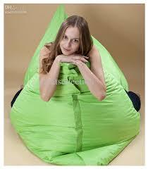 green bean bag large fabric leisure sofa bed cover tatami sofa
