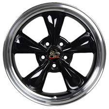 Black Mustang Black Rims Black Wheels Toyo Tires Fit Ford Mustang 17x8 Bullitt Style