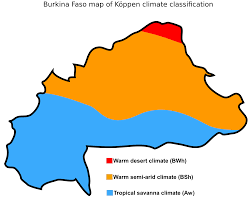 Sub Saharan Africa Map Quiz by Burkina Faso Map Of Koppen Climate Classification Maps Of Africa