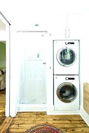 Laundry Room Storage Between Washer And Dryer Washer Dryer Storage Horizon Washer Dryer Storage Shelves