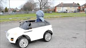 land rover kid kids ride on electric car range rover style 12v youtube