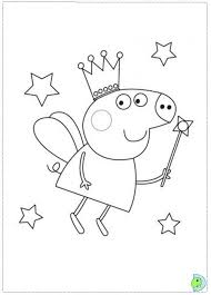 peppa pig coloring fablesfromthefriends