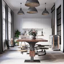 industrial modern kitchen designs kitchen industrial style refrigerator best small kitchen design