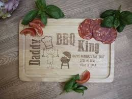 personalised cutting board bbq king chopping board gifts for for him made with