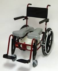activeaid advanced folding shower commode chair