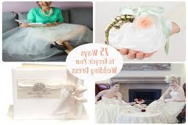 recycle wedding dress great ways to recycle your wedding decor wedding dress recycle ideas